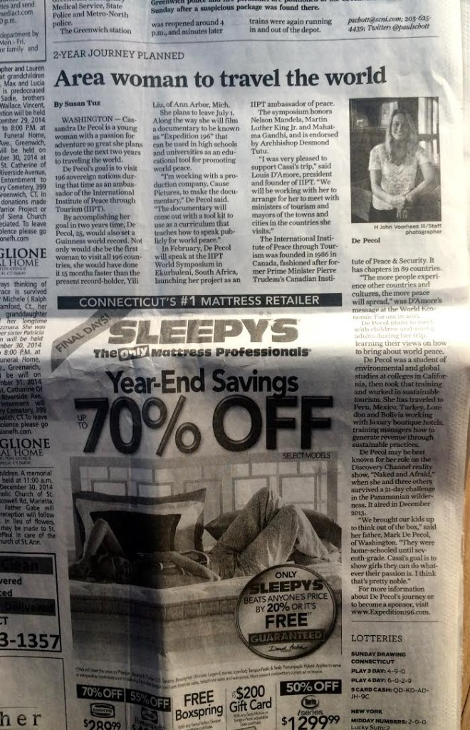 The Connecticut Post Spread 2