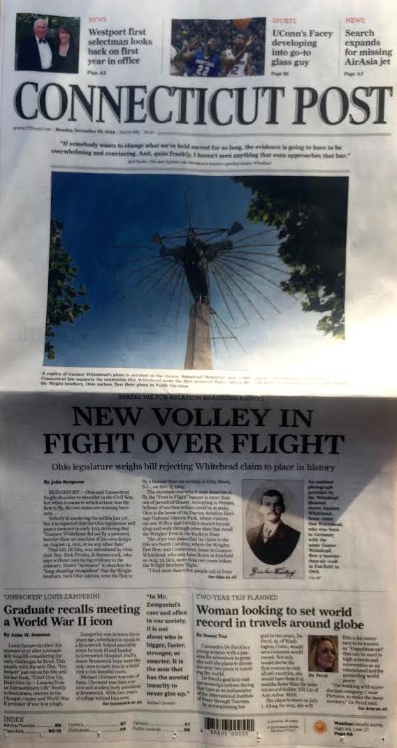 The Connecticut Post Spread