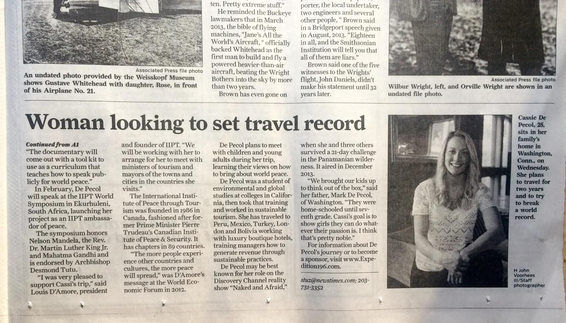The Stamford Advocate Page 2