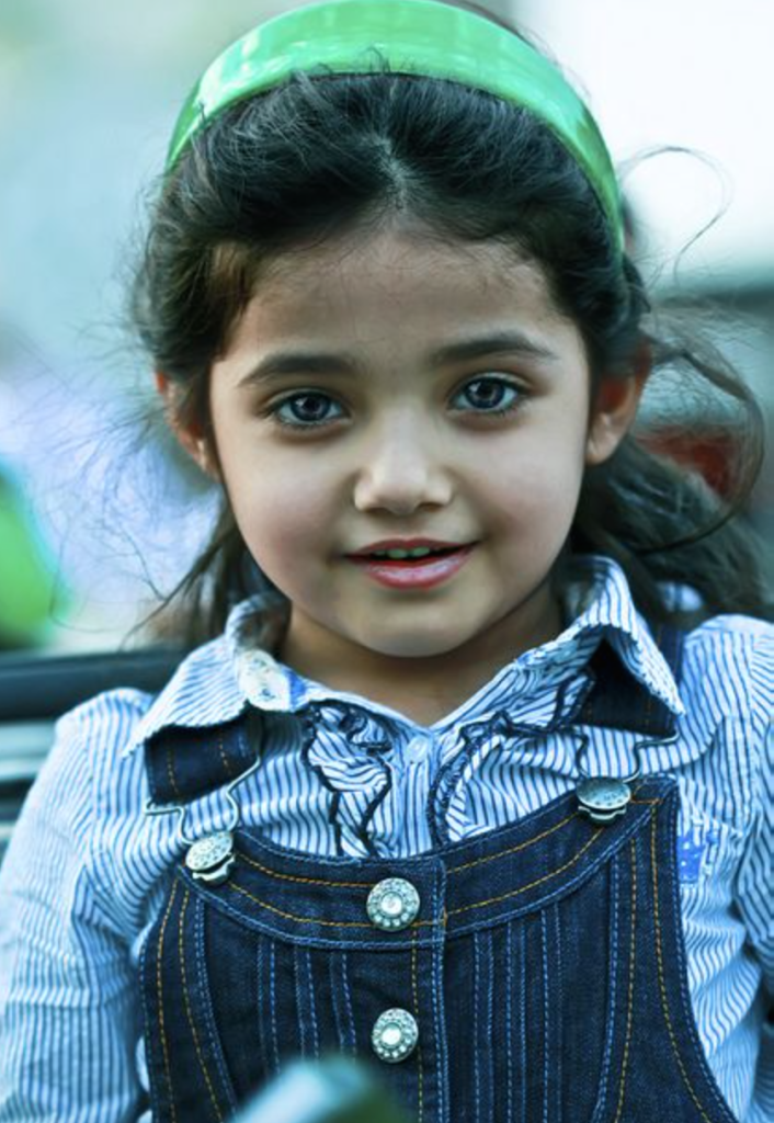 Little girl in Saudi Arabia. Photo Credit: Fahad Al-Ateeq (Instagram:@Ifofe)